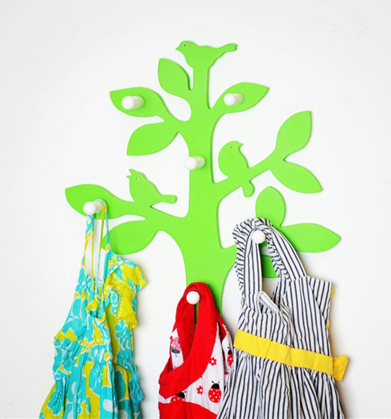 6 8er wandgarderobe baum hakenset wandhaken hakenleiste ebay. Black Bedroom Furniture Sets. Home Design Ideas