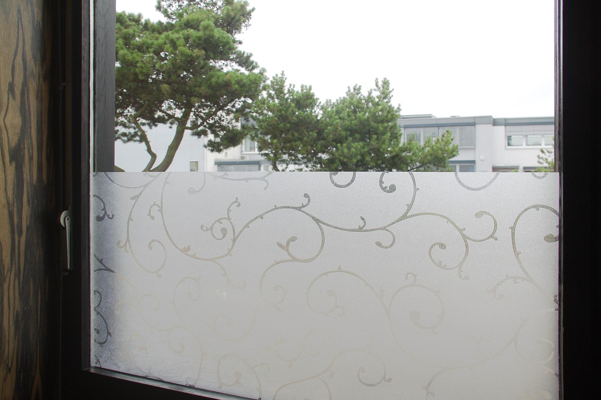 Einzigartig Fensterfolie Selbstklebend