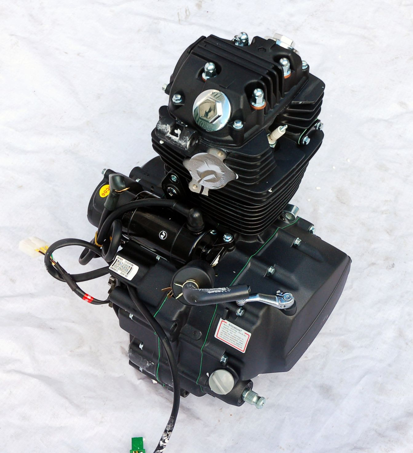 Zongshen Motor Parts Images